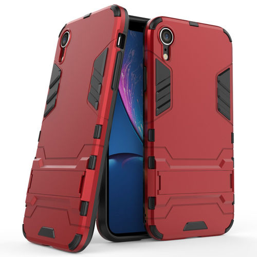 Slim Armour Tough Shockproof Case for Apple iPhone Xr - Red